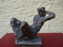 Renate Streck - Bronze liegend